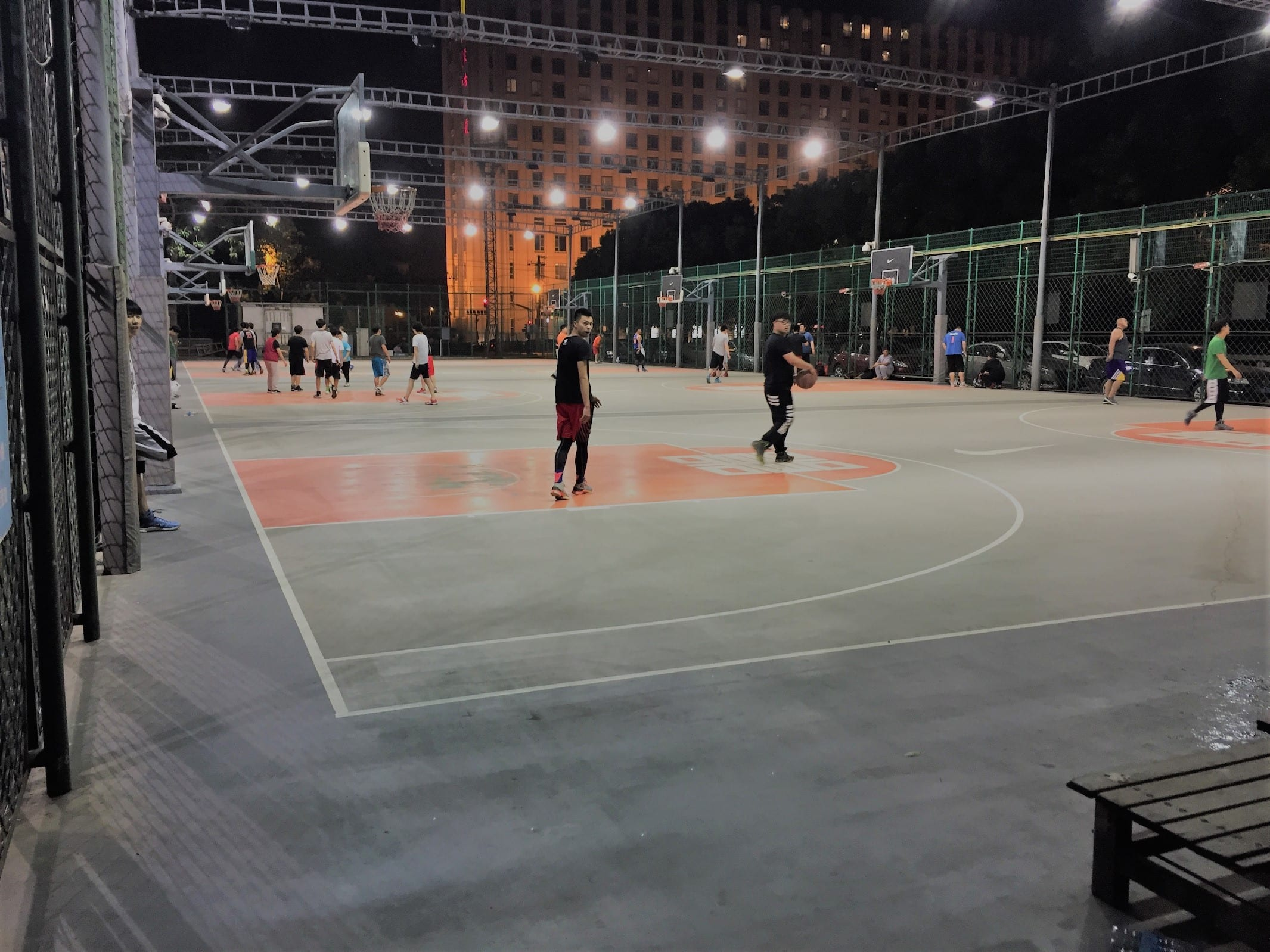 Difference Between Indoor and Outdoor Basketball Court
