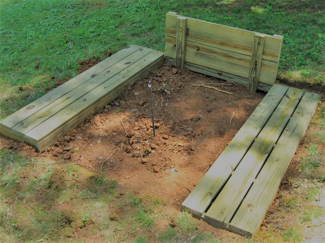 How to Build a Standard Horseshoe Pit
